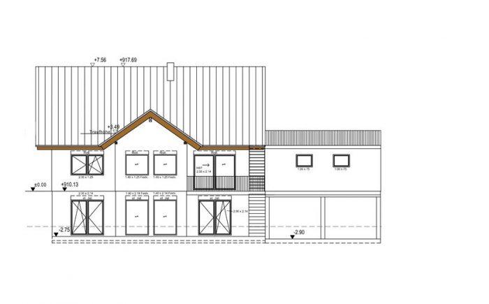 Zweifamilien Holzhaus