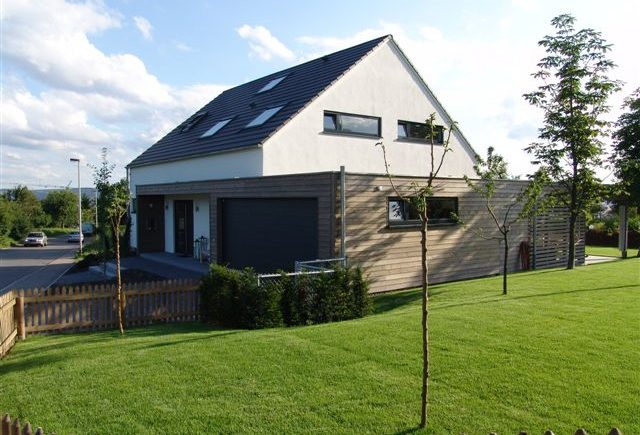 Nordansicht Holzhaus