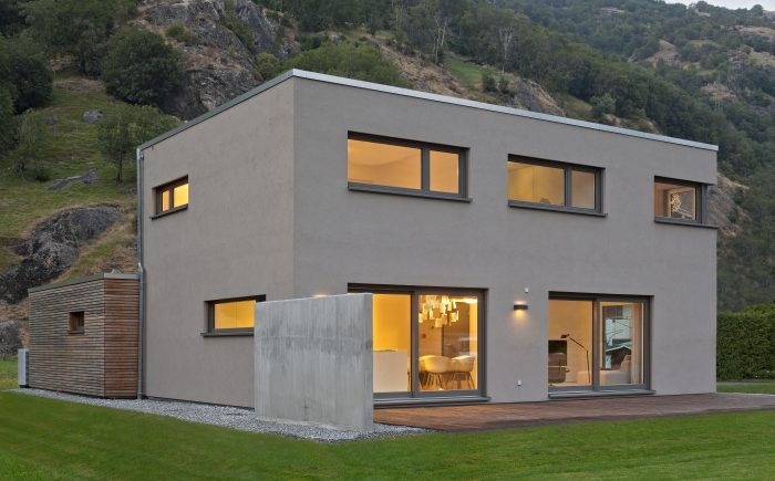 Holzhaus Wallis